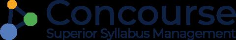 Concourse Syllabus Management