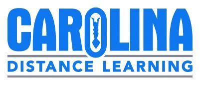 Carolina Distance Learning logo